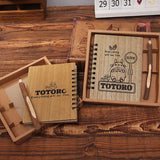 My Neighbor Totoro Everything Will Be Fine Wooden Notebook - ghibli.store