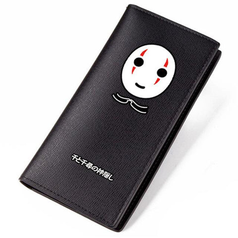 Spirited Away No Face Kaonashi Long Wallet - ghibli.store