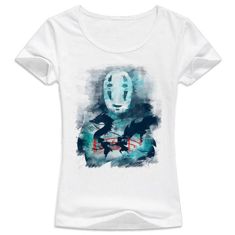 Spirited Away Women T shirt - ghibli.store
