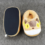 My Neighbor Totoro Cat Bus Plush Slipper - 50shades.store