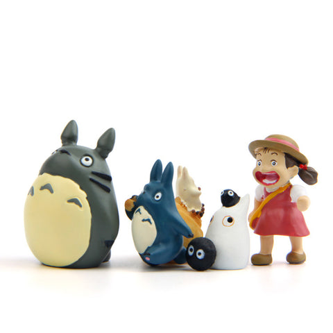 My Neighbor Totoro Characters Figures 5pcs/lot - 50shades.store