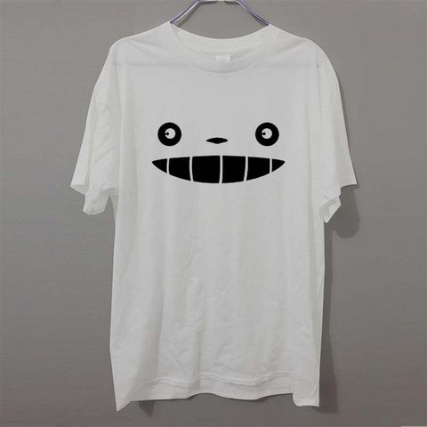 My Neighbor Totoro Face T shirts - 50shades.store