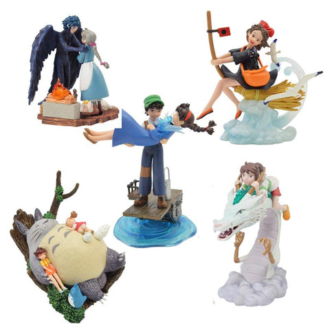 Studio Ghibli Figures 5pcs/lot 7.5-10.5CM - 50shades.store