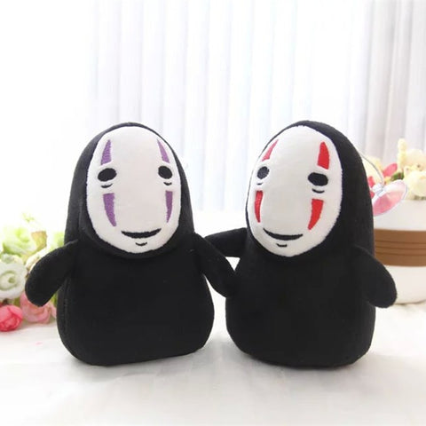 Spirited Away Kaonashi No Face Man Plush 15cm - ghibli.store