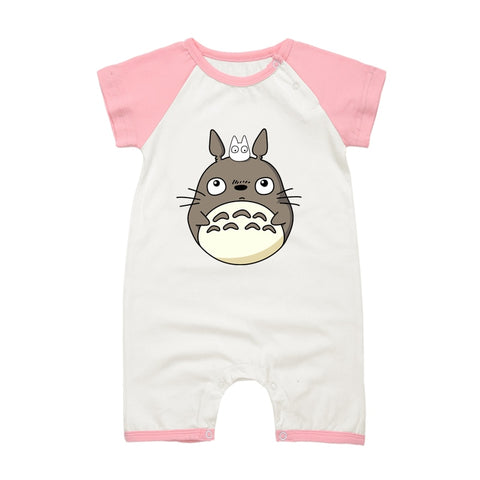 My Neighbor Totoro Onesies Short Sleeve for Baby - ghibli.store