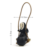 Spirited Away Kaonashi No Face on The Swing Figure - ghibli.store