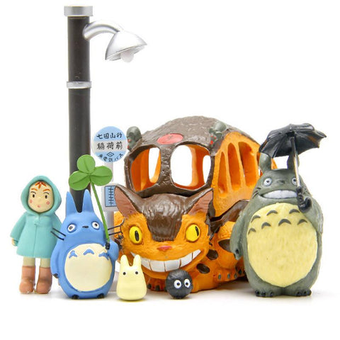 My Neighbor Totoro figures 8Pcs/lot - 50shades.store