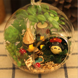 My Neighbor Totoro Cute DIY Glass Ball Doll House for Christmas Gift - ghibli.store