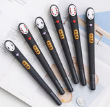 Spirited Away Kaonashi No Face Gel Ink Pen 2pcs/lot - ghibli.store