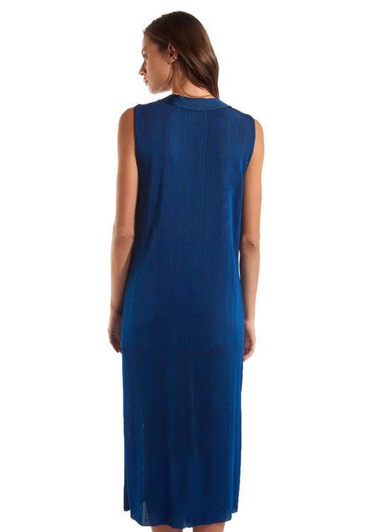 BABEL DRESS - SOLID BLUE