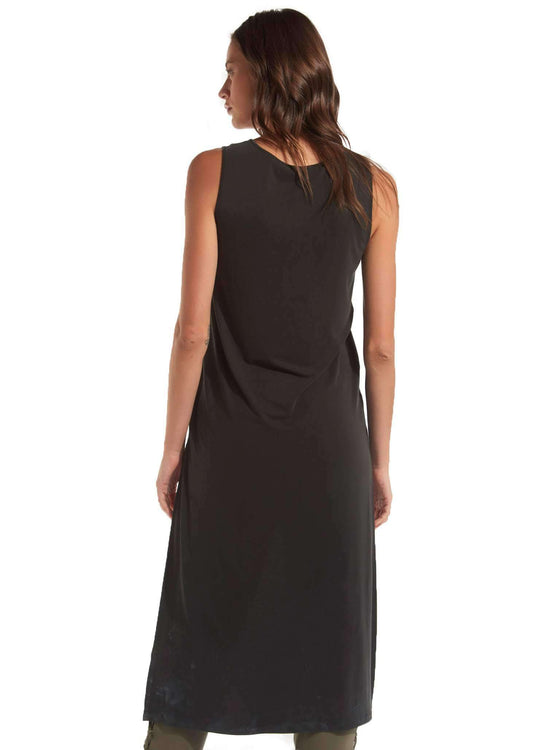 Lana Hi Lo Tunic - BLACK