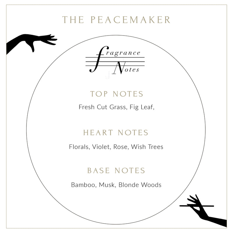 THE PEACEMAKER SCENTED CANDLE