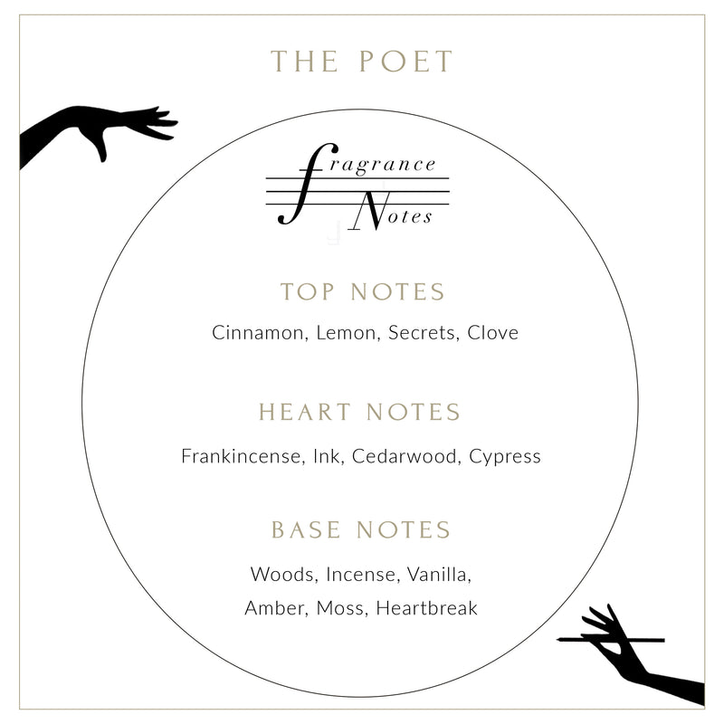 THE POET SCENTED CANDLE