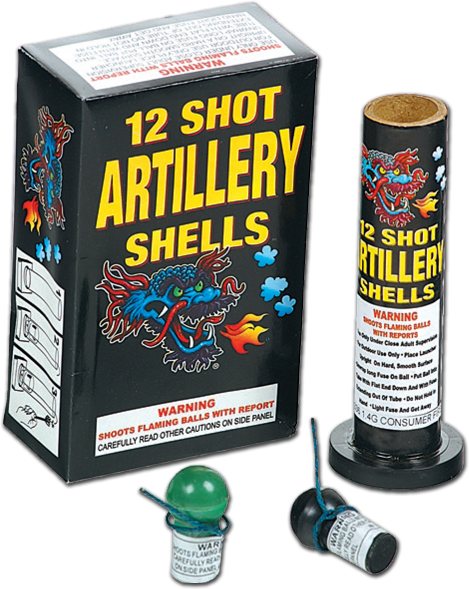 6 Shot Artillery Shell