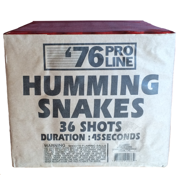 36s Humming Snakes (8sec)