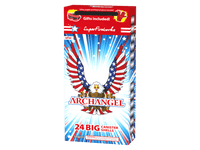 Archangel 24 BIG Canister Shells ~ Very Limited Quantity Available. Includes Safety Goggles and Gloves