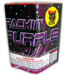 Packin' Purple Fountain - Black Cat