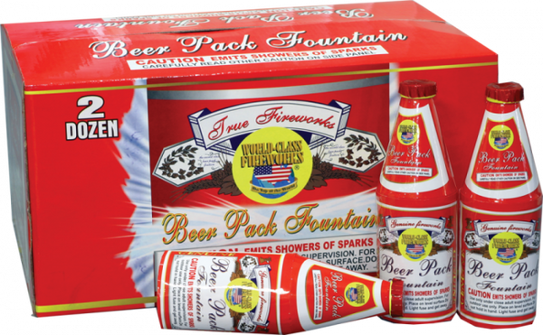 Beer Pack Fountain