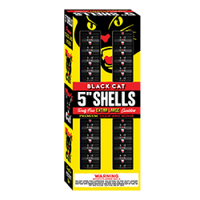 "Black Cat 5"" XL Canister Shells"