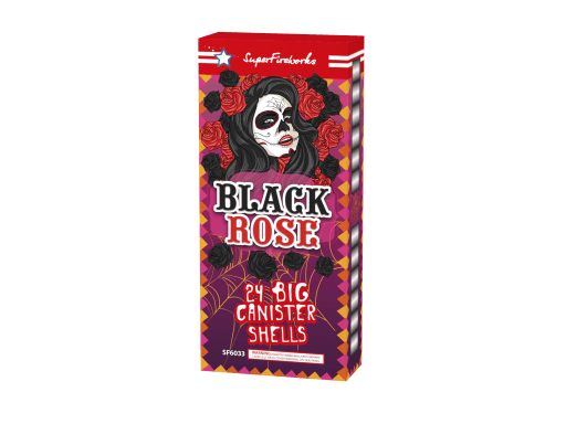 "Black Rose - 5"" Max Charge Canister Shells!"