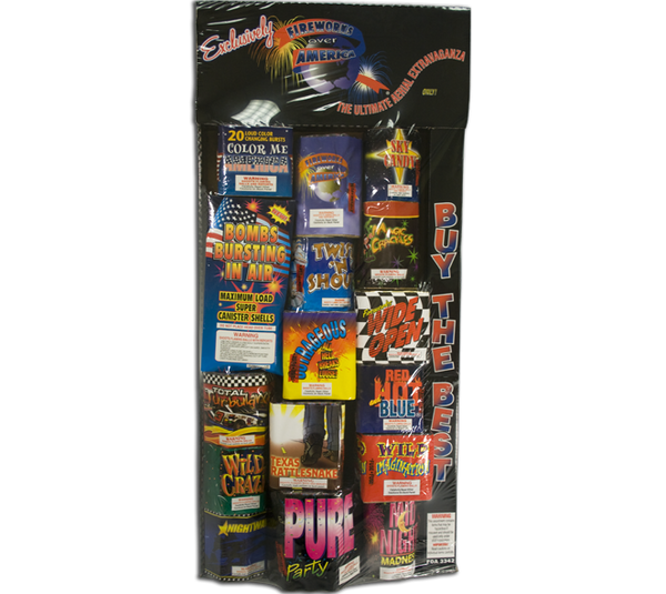 Fireworks Over America Assortment