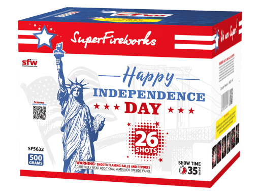 Happy Independence Day ~ 500 Gram Aerial