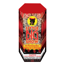 Little Big Show Fountain - Black Cat