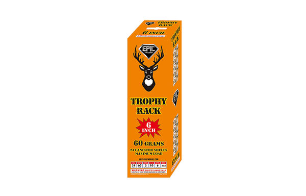 "Trophy Rack 6"" XL Canister Shells"