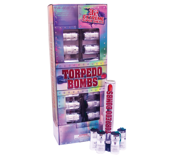 Torpedo Bombs 32 Canister Shells - NEW FOR 2019
