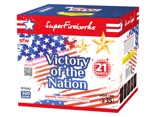 Victory of the Nation ~ 500 Gram Aerial