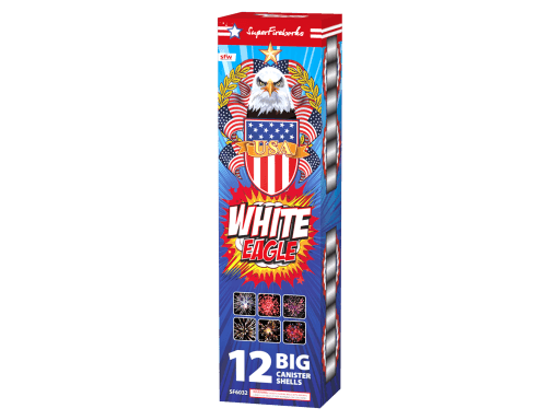 White Eagle - 12 Canister Shells