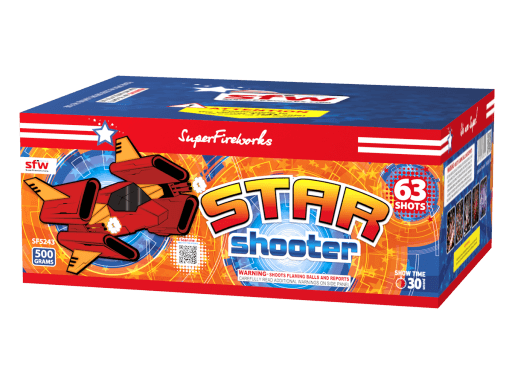 Star Shooter ~ 500 Gram Aerial