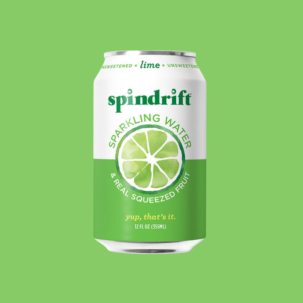 Lime Sparkling Water<br><span>24-Pack</span>