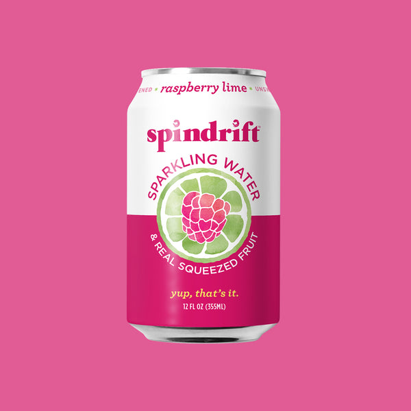 Raspberry Lime Sparkling Water<br><span>24-Pack</span>