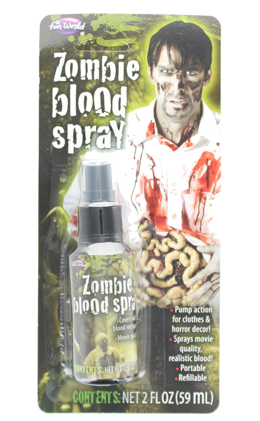 Zombie Blood Spray For Face, Clothes & Horror Decor - Perfect for Halloween