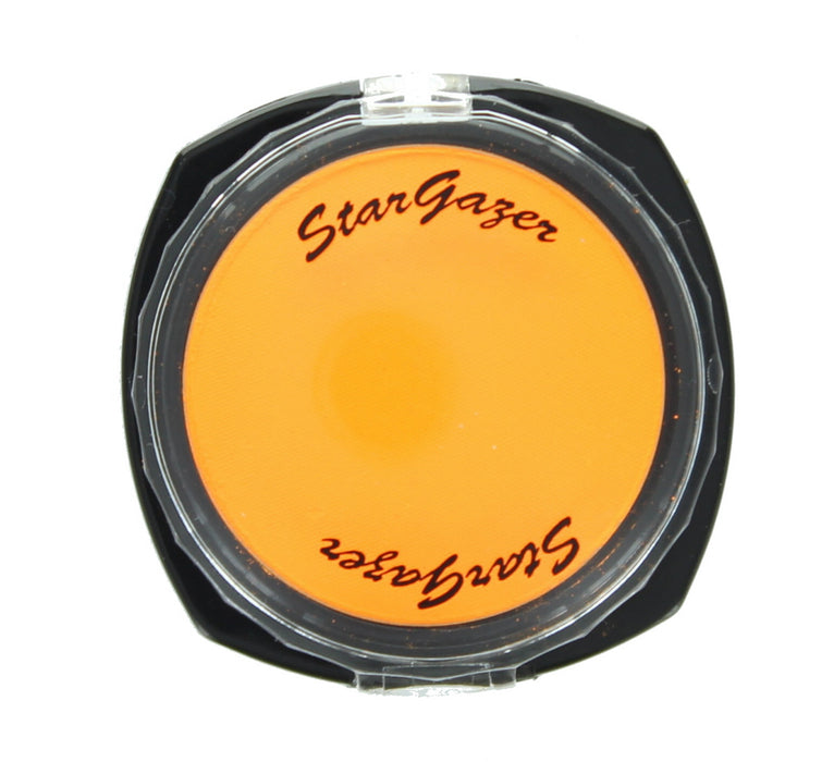 Stargazer Florescent UV Pressed Powder Eye Shadow-Tangerine