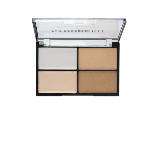 Technic Strobe Kit 2 Cream & 2 Powder Highlighter Palette