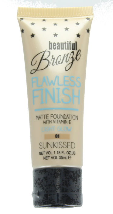 Sunkissed Beautiful Bronze Flawless Finish Matte Foundation 35ml