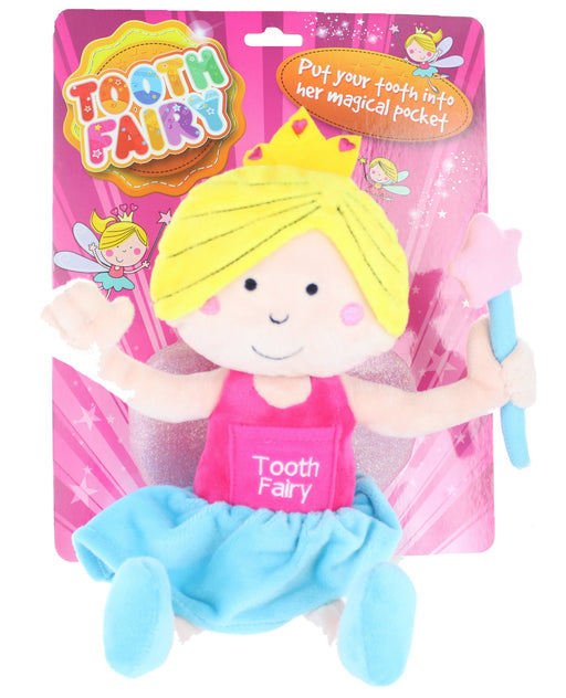 Children's Girls Tooth Fairy Doll With Magical Pocket For Missing Lost Tooth