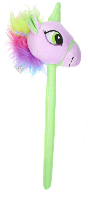 Novelty Unicorn Head Magical Wand with Sound Children's Toy-Lilac