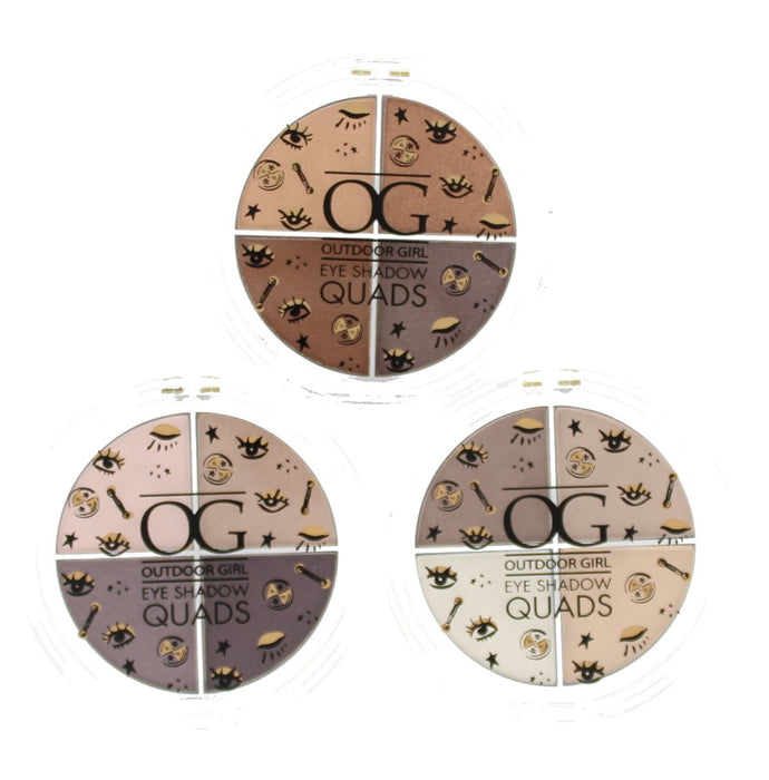 Outdoor Girl Quad Eyeshadow Palette