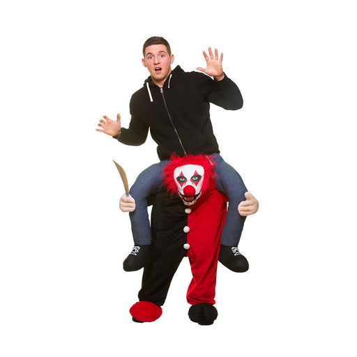 Adults Halloween Fancy Dress One Size Carry Me Killer Clown Costume