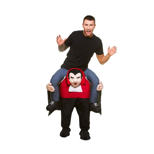 Adults Halloween Vampire Shoulder Carry Me Ride On Piggy Back Fancy Dress Costume