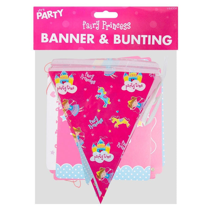 Fairy Princess Banner & Bunting Party Decoration/ Supplies