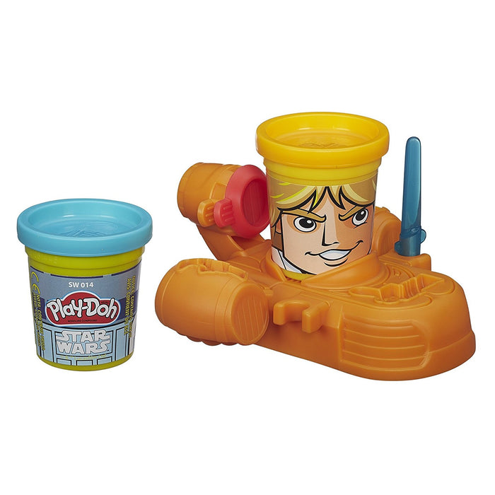 Play-Doh Star Wars Luke Skywalker & R2-D2 Can Heads