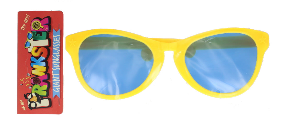 Adults Prankster Giant Oversized Sunglasses Fancy Dress Accessory 28cm