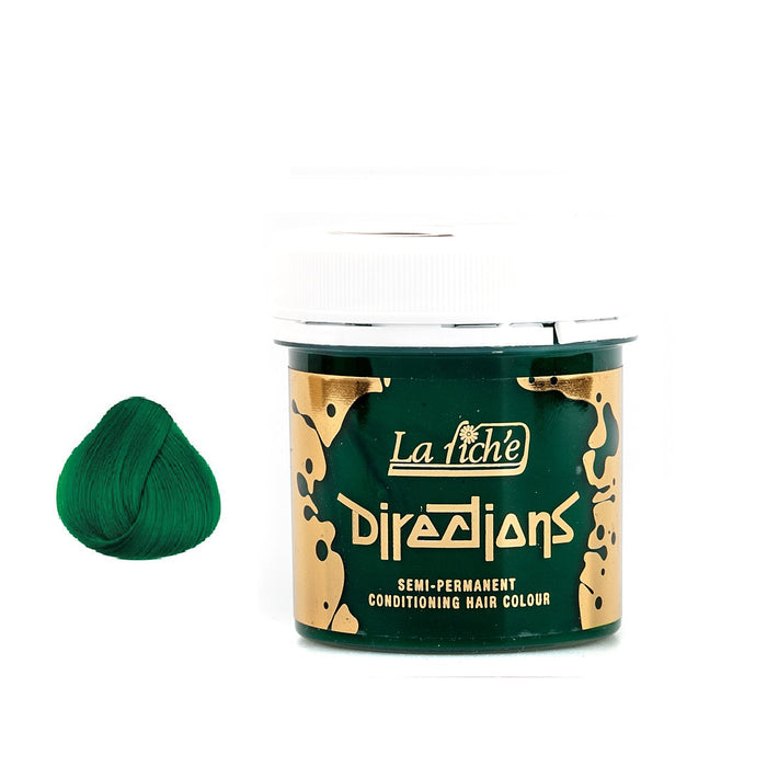 La Riche Directions Semi-Permanent Hair Colour Dye Apple Green