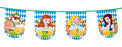 Boland Oktoberfest Blue & White Beer Party Bunting Banner Decoration Supplies 8M