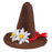 Boland Oktoberfest Brown Bavarian Clip on Hat Fancy Dress Outfit Accessory