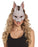Bunny Rabbit Half Face Mask Animal Face Fancy Dress Costume Accessory Adult